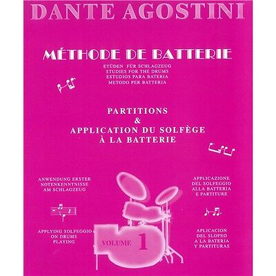 Agostini, Dante: Methode De Batterie - Studies For The Drums - S.... Sheet Music