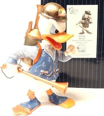 "New in Box, Disney's Donald Duck Steampunk Collection Figurine 5.25"" Tall"