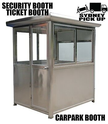 stainless steel Security Pavilion  security room  gurand unit Ticket Booth