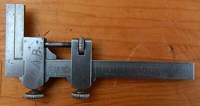 "RARE Miniature Darling Brown & Sharpe Vernier Caliper - 2 5/8"" Long - Reduced!!"