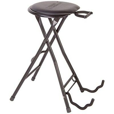 Kinsman: Guitarist's Dual-Stool - Combined Stool And Guitar Stand. Accessory