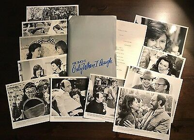 Neil Simon's Only When I Laugh - Press Kit - Marsha Mason & Kristy McNichol!