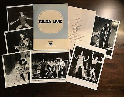Gilda Live - Press Kit - Gilda Radner!! 6 photos!