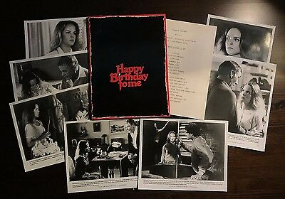 Happy Birthday to Me (1981) - Press Kit - 7 photos!! Good condition!!