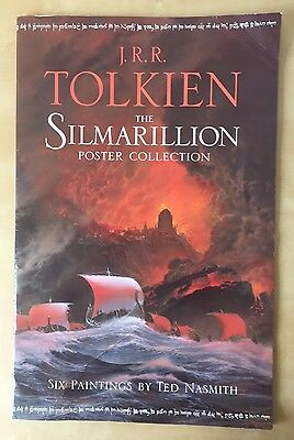 JRR Tolkien The Silmarillion Poster Collection illustrations by Ted Nasmith 1998