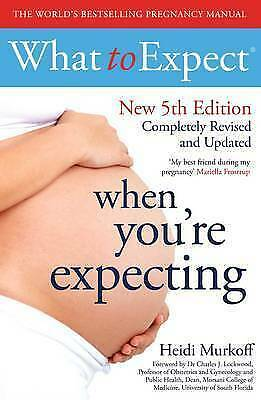 What to Expect When You're Expecting 5th Edition,Excellent Condition