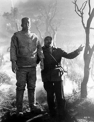 Ghost Of Frankenstein Movie Scene High Quality Photo