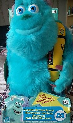 Disney Monsters Inc Bedtime Sulley Talking Snoring  Sully - In Original Box