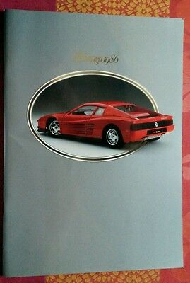 CATALOGUE burago 1986 automobile F1 voiture miniature die cast