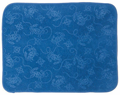 Kay Dee Designs Blue Crab Drying Mat One Size Blue