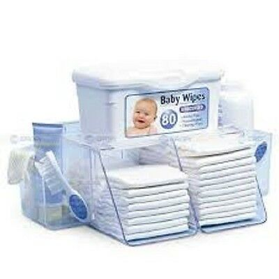 Wipe Warmer Station Baby Diaper Towel Nappy Bag Box Carrier Formula Milk Teether