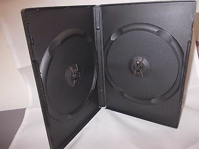 1 Double / Single Blank Dvd Case 14Mm Thick New Freepost In The Uk