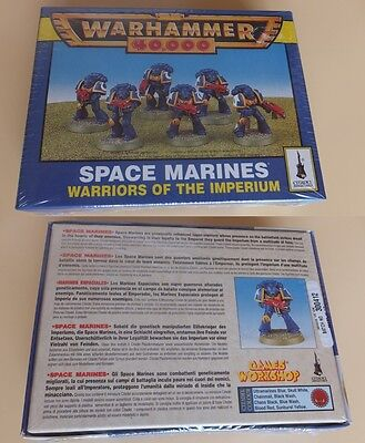 Warhammer 40000 40K SPACE MARINE Warrior of the Imperium NEW OOP