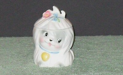 Beautiful Mr Toodles Jam Jar By Lefton 5 Inchs Tall***excellent Condition***