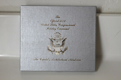 NEW The Official 2005 United States Congressional Holiday Ornament Collection