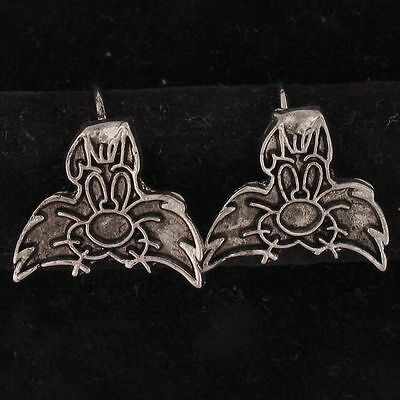 Earrings Sylvester The Cat Warner Bros Looney Tunes Silver Face Wb Store 5137