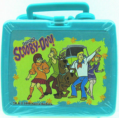 SCOOBY DOO & GANG FLIX TV Miniature MINI LUNCH BOX KEYCHAIN ZIPPER PULL 12024