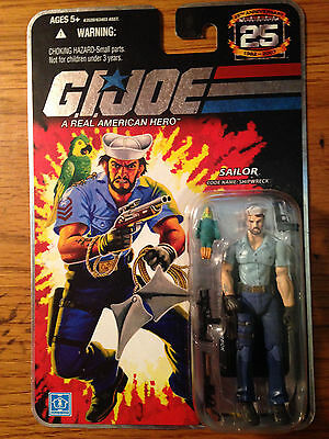 Gi Joe 25Th Anniversary Series Sailor Shipwreck Figure W/ Anchor Tattoo