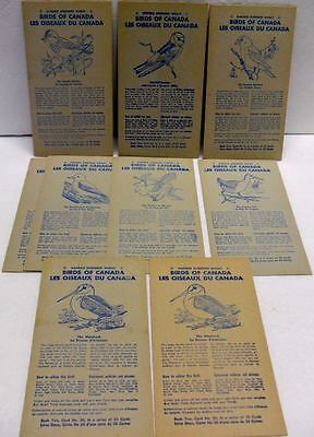 "1950's Nabisco Shredded Wheat "" Birds Of Canada Cards Book 2 X 10"