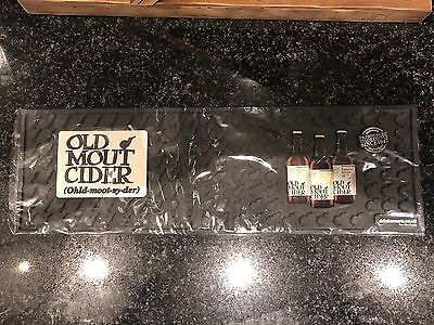 2x Old Mout Cider Rubber Bar Runners Pub Shed Bar Man Cave