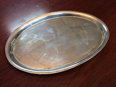 Antique Tiffany & Co Sterling Silver Dresser Tray Circa 1940s