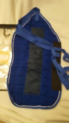 Thermatex tailguard royal bluewith white/royal blue binding brand new