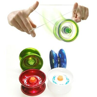 Super Yo-Yo String Toy Trick Kids Metal YoYo Stocking Filler Child Gift New