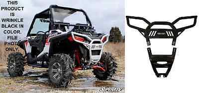 BLACK!! SuperATV Polaris RZR S 900 / RZR S 1000 Rear Bumper Brush Guard Push Bar