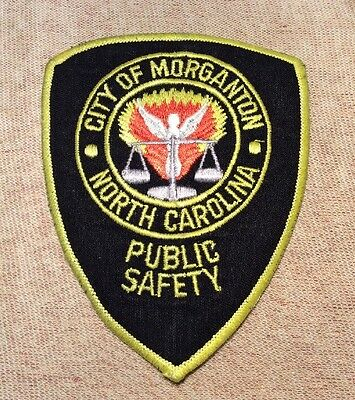 NC Morganton North Carolina Public Safety Patch