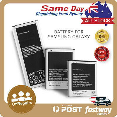 For Samsung Galaxy S2 SII S3 S4 S5 S6 S7 Edge Note 2 4 5 Battery Replacement AU