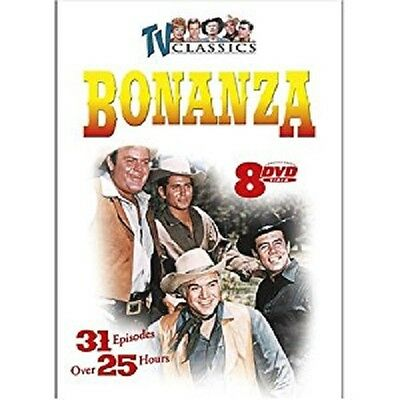 Bonanza 8-DVD Pack 31 episodes 25 hours