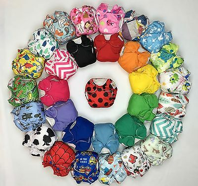 New Happy Flute All-In-One Newborn Cloth Diaper.Like THX or lil joey's.US Seller