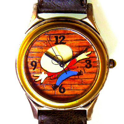 Yosemite Sam New Fossil Warner Bros, Leather Band Watch, Highly Collectible $115