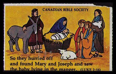 CANADIAN BIBLE SOCIETY SEAL #cc4103.11c VERY RARELY SEEN OR OFFERED (CC042)