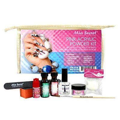 MIA SECRET - Pink Acrylic Powder Set  (Kit-05)