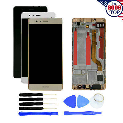 LCD Display Touch Screen Digitizer+Frame+Tools for Huawei P9 Standard EVA-L09