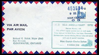 50th ANNIVERSARY SIOUX LOOKOUT TO CLEARWATER ONTARIO, MAJOR MALOTT (K2560)