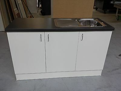 NEW Australian Made Kitchen Cabinet,Laundry Cupboard, Laminate bench Top900x1500