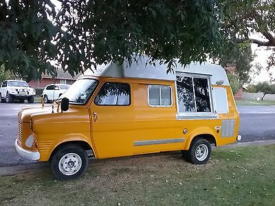 Iconic 1973 Ford 150 Transit Mobile Ice-Cream Van