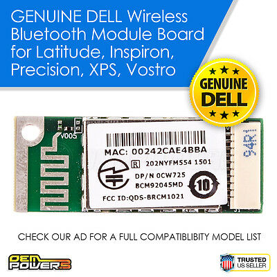 DELL TRUEMOBILE Wireless 355 Bluetooth Module XPS M1330 M1210 M1710 M1730 M2010
