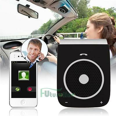 Wireless Bluetooth kit de coche manos libres altavoz visera para iPhone Android