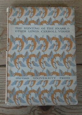 The Hunting of the Snark & Other Lewis Carroll Verses (hardback 1939)