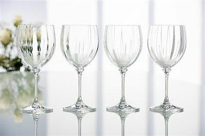 Wine glasses, Galway Crystal, boxed in 4's