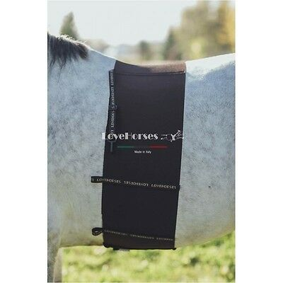 Love Horses Equine Body Bandage - Spur Guard - Belly Band - Made in Italy
