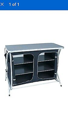 Royal Easy Up Double Low Lightweight Instant Camping Cupboard