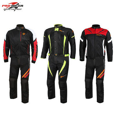 Motorcycle Racing Jacket Pants Protector Motocross Body Armour Protective Gear