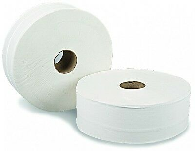 Cheap Jumbo Roll Toilet Tissue 2 Ply 300 Metres, 8 Rolls Carton White Quality