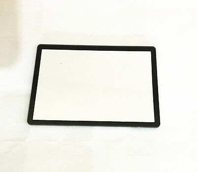 New LCD Window outer Glass Screen Display +Tape adhesive for Canon EOS 60D