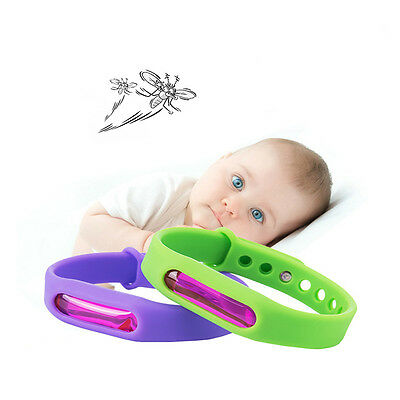 Summer Repellent Repeller Anti Mosquito Pest Insect  Bracelet Wristband Hot