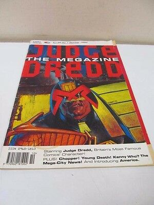 Judge Deed The Magazine First Issue 1 October 1990